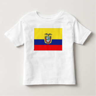 Ecuador Flag Toddler T-shirt