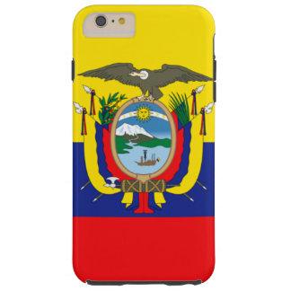 Ecuador flag tough iPhone 6 plus case