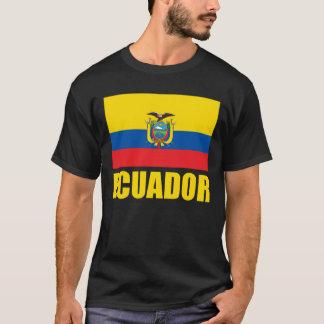 Ecuador Flag Yellow Text T-Shirt