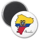 Ecuador fresco imán de frigorifico