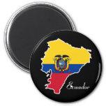 Ecuador fresco imán para frigorífico
