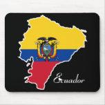 Ecuador fresco tapete de ratones