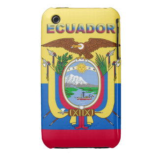 Ecuador iPhone 3 Case-Mate Cobertura