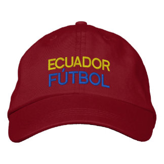 ECUADOR FUTBOL EMBROIDERED HAT