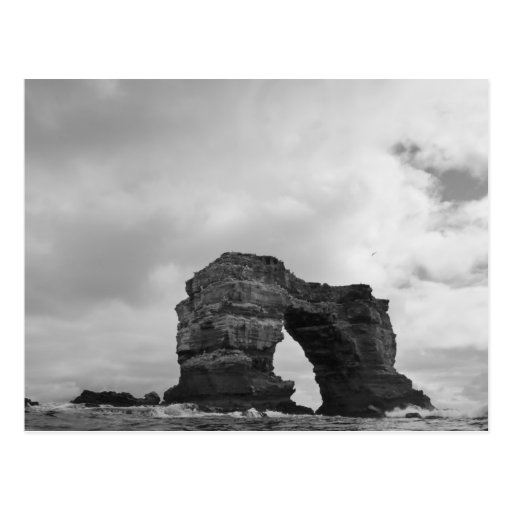 Ecuador, Galapagos Islands, Darwin Island, Waves Postcard