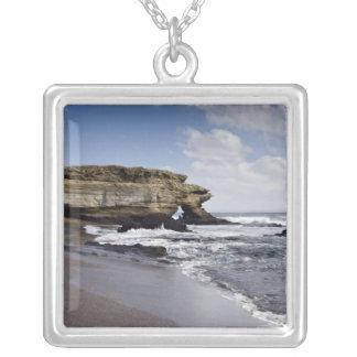 Ecuador, Galapagos, Santiago aka James). 3 Silver Plated Necklace
