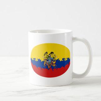 Ecuador Gnarly Flag Mug