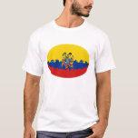 Ecuador Gnarly Flag T-Shirt