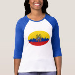 Ecuador Gnarly Flag T-Shirt