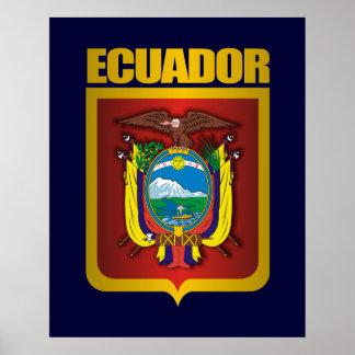 """""""Ecuador Gold"""" Poster"""