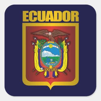 """""""Ecuador Gold"""" Square Sticker"""