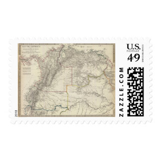 Ecuador, Granada, Venezuela, Brazil, Guayana Postage Stamp