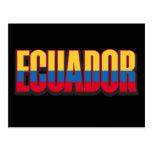 Ecuador grande tarjetas postales
