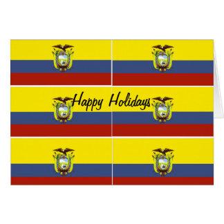 Ecuador greeting cards
