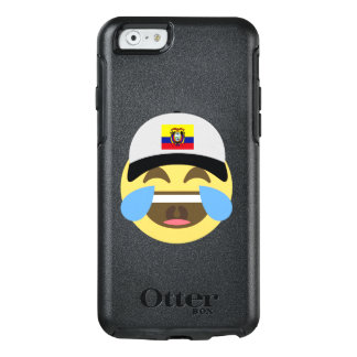 Ecuador Hat Laughing Emoji OtterBox iPhone 6/6s Case