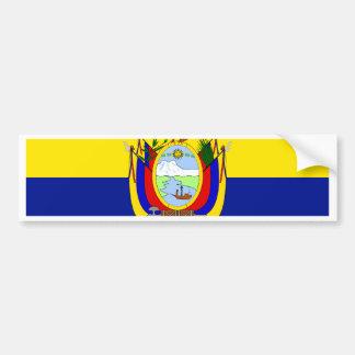 Ecuador High quality Flag Car Bumper Sticker