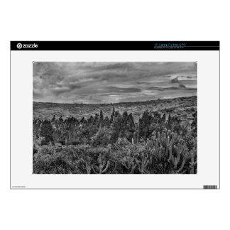 """Ecuador Landscape Scene at Andes Range 15"""" Laptop Skin"""
