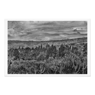 Ecuador Landscape Scene at Andes Range Photo Print