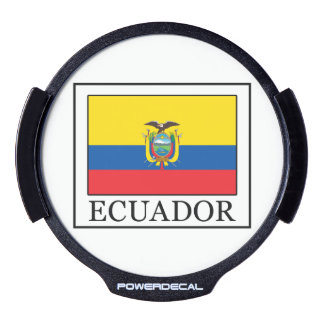 Ecuador LED Window Decal