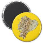 Ecuador Map Magnet