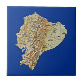 Ecuador Map Tile