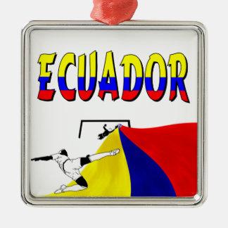 Ecuador Metal Ornament
