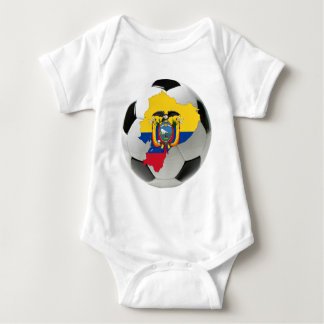 Ecuador national team baby bodysuit