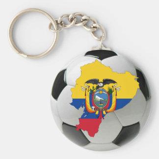 Ecuador national team basic round button keychain