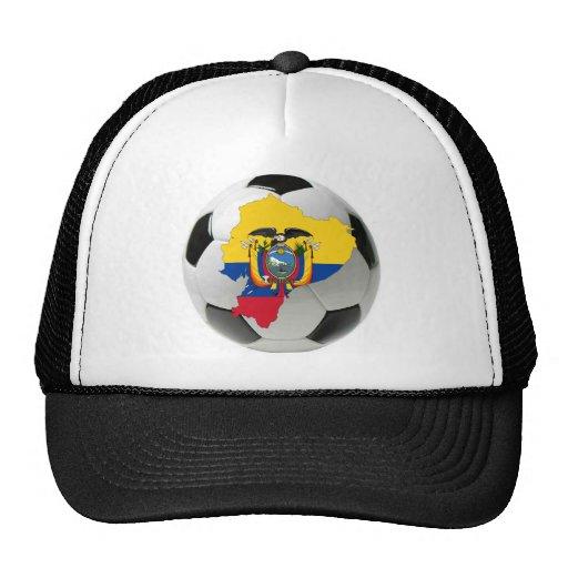 Ecuador national team mesh hats