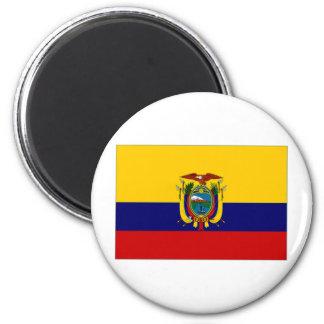 Ecuador Naval Ensign 2 Inch Round Magnet