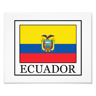 Ecuador Photo Print