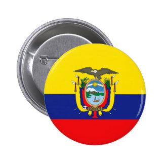 Ecuador Pinback Button