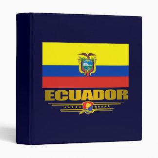 """Ecuador Pride"" Binders"
