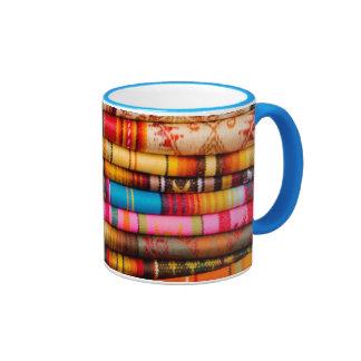 Ecuador, Quito Area, Otavalo Handicraft Market Ringer Coffee Mug