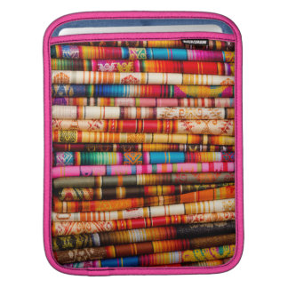 Ecuador, Quito Area, Otavalo Handicraft Market Sleeve For iPads