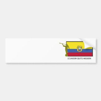 Ecuador Quito Mission LDS CTR Car Bumper Sticker