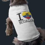 """Ecuador Shirt<br><div class=""""desc"""">I Love Ecuador.</div>"""