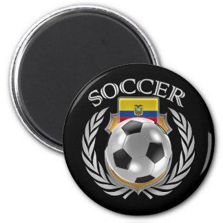 Ecuador Soccer 2016 Fan Gear 2 Inch Round Magnet