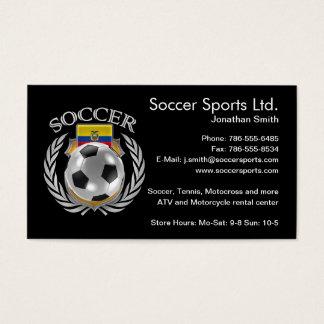 Ecuador Soccer 2016 Fan Gear Business Card