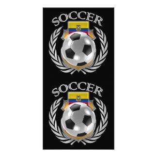 Ecuador Soccer 2016 Fan Gear Card
