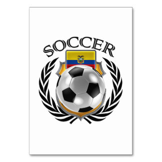 Ecuador Soccer 2016 Fan Gear Card
