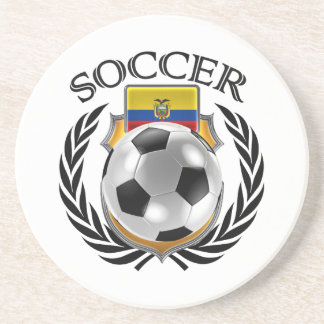 Ecuador Soccer 2016 Fan Gear Coaster