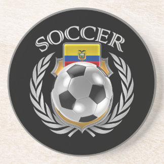 Ecuador Soccer 2016 Fan Gear Drink Coaster