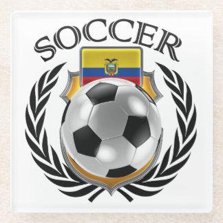 Ecuador Soccer 2016 Fan Gear Glass Coaster