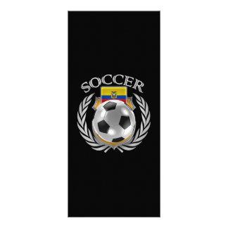 Ecuador Soccer 2016 Fan Gear Rack Card