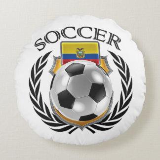 Ecuador Soccer 2016 Fan Gear Round Pillow