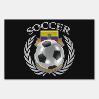 Ecuador Soccer 2016 Fan Gear Sign