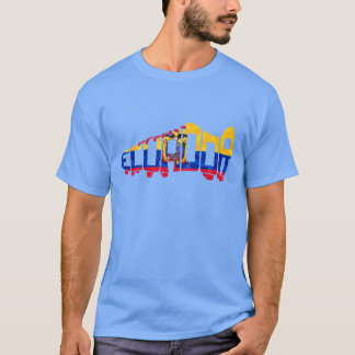 Ecuador Soccer Cleat Design T-Shirt
