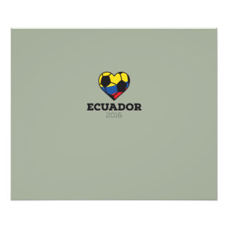 Ecuador Soccer Shirt 2016 Photo Print