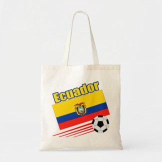 Ecuador Soccer Team Tote Bags